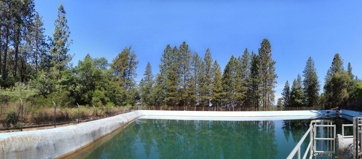 Water Treatment Plant Open Reservoir