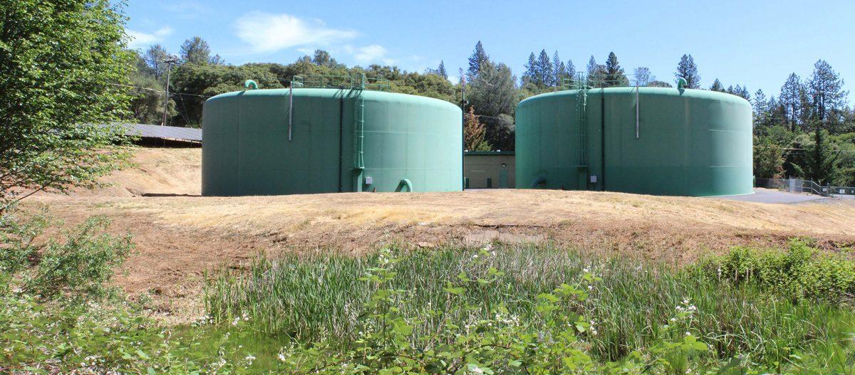 Water Treatment Plant Storage Tanks
